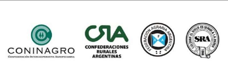 Resultado de imagen para Mesa de Enlace de Entidades Agropecuarias logos