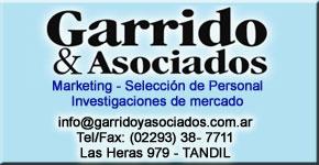 GARRIDO Y ASOCIADOS - Marketing - Selección de Personal - Investigaciones de mercado